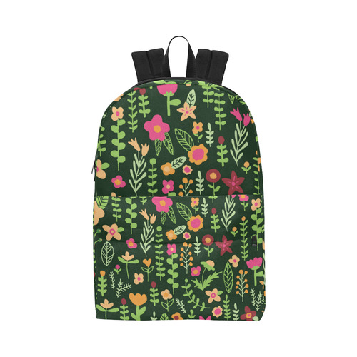 1b50ce6c6994 ... Cute Doodle Flowers Unisex Classic Backpack (Model 1673) ...