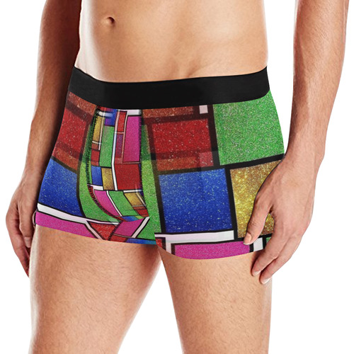 Glitter by Artdream Men's All Over Print Briefs (Model L12)