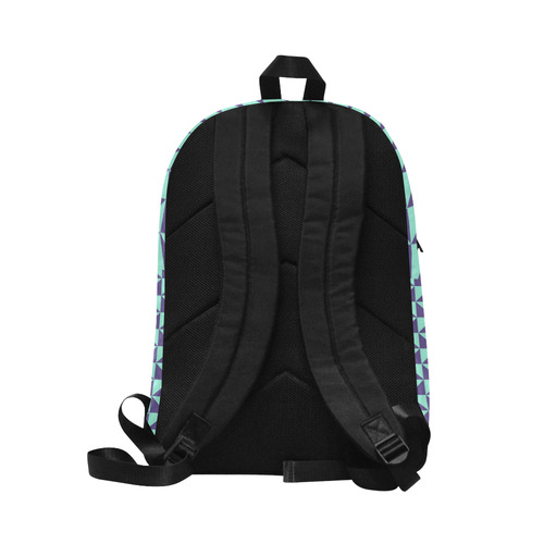 Color of the Year 2018 Geometric Pattern Unisex Classic Backpack (Model 1673)