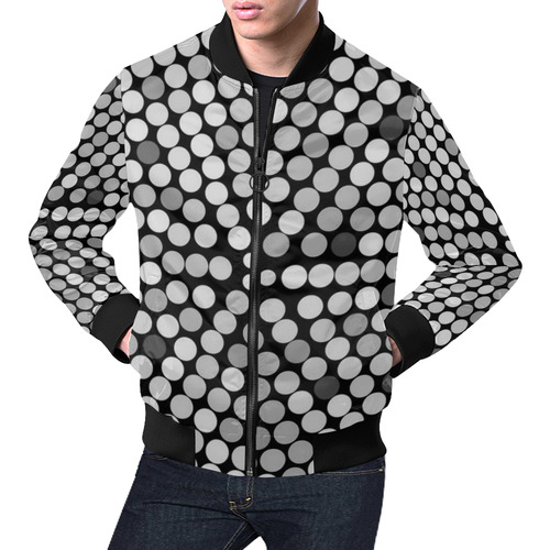 Patio by Artdream All Over Print Bomber Jacket for Men (Model H19)