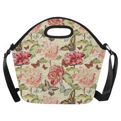 6925e4a6f293 Wholesale Flowers Neoprene Lunch Bag/Large (1669) @ ArtsAdd