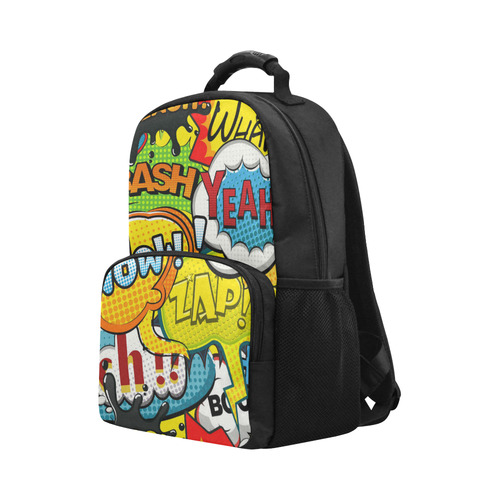 Funny Speech Bubbles Unisex Laptop Backpack (Model 1663)