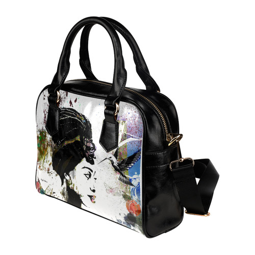 Hummingbird Soul Shoulder Handbag (Model 1634)