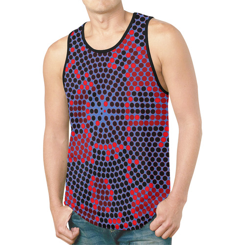 Point System by Artdream New All Over Print Tank Top for Men (Model T46)