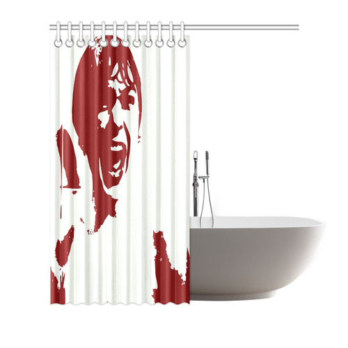 Psycho Shower Curtain 72x72
