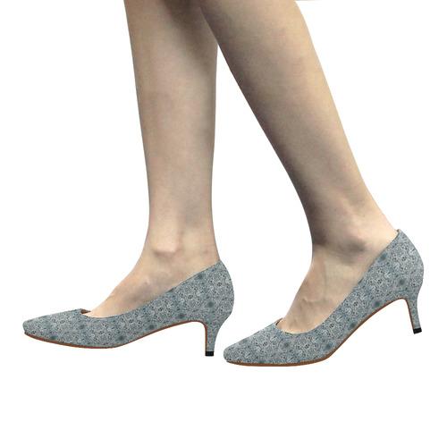 Silfo Women's Pointed Toe Low Heel Pumps (Model 053)
