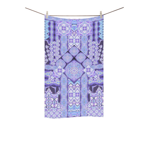 "mandala spirit purple Custom Towel 16""x28"""