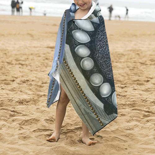 Chinese dragon Kids' Hooded Bath Towels