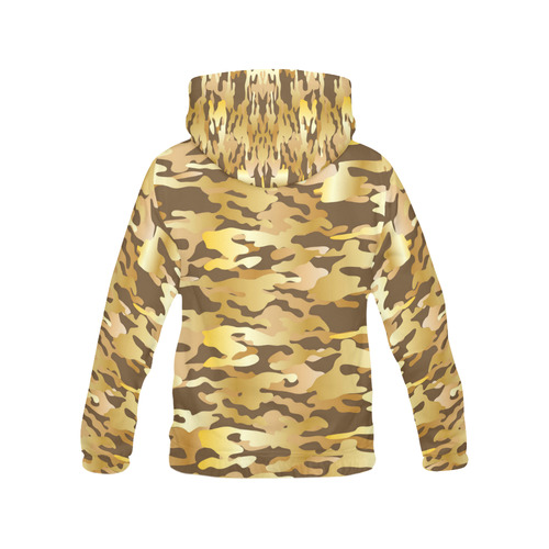 Camouflage Pattern All Over Print Hoodie for Men/Large Size (USA Size) (Model H13)