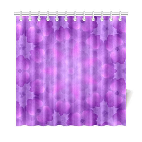Purple Cloud Shower Curtain 72x72