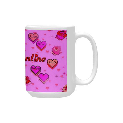 Valentine by Popart Lover Custom Ceramic Mug (15OZ)