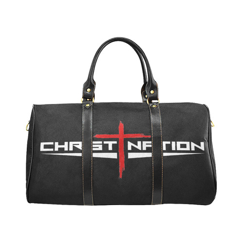 Christ Nation Tote New Waterproof Travel Bag/Small (Model 1639)