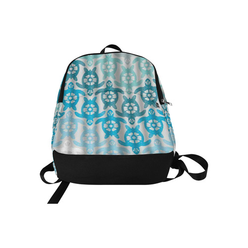Ghost Turtles Trance Fabric Backpack for Adult (Model 1659)