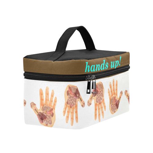 projections Yoga, standard , cote et symetrique Cosmetic Bag/Large (Model 1658)