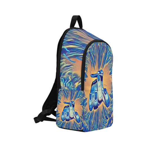 Ganja Genie Smoke Bomb Fabric Backpack for Adult (Model 1659) | ID: D2284454
