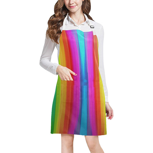 couleurs 3 All Over Print Apron