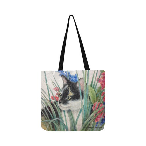 Pepper in the Posies Reusable Shopping Bag Model 1660 (Two sides)