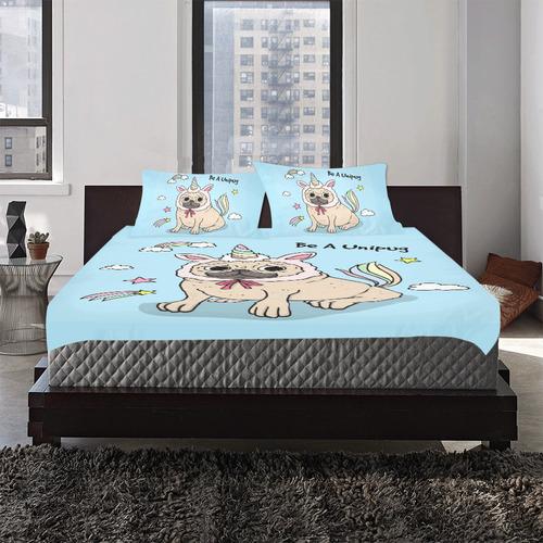 Be A Unipug 3-Piece Bedding Set