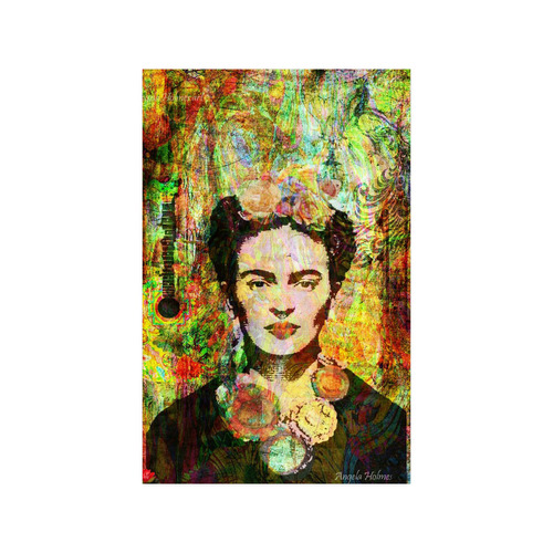 Frida mixed media Poster 11*17