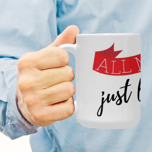 Mug All My Love Custom Ceramic Mug (15OZ)