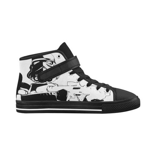 Men's Sketchy Stormtrooper Aquila Strap Shoes Aquila Strap Men's Shoes (Model 1202)