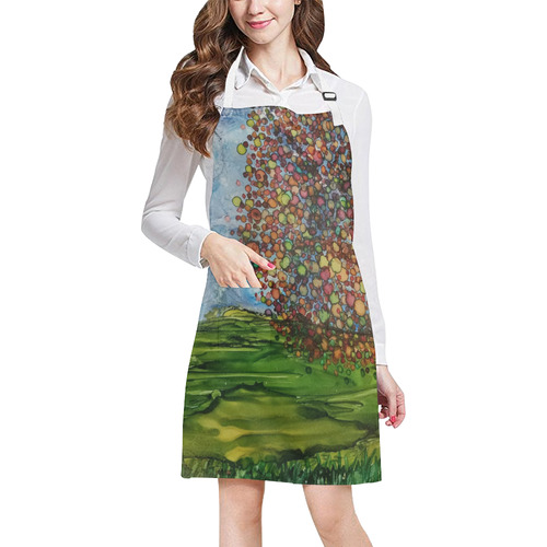 Fall Breeze All Over Print Apron