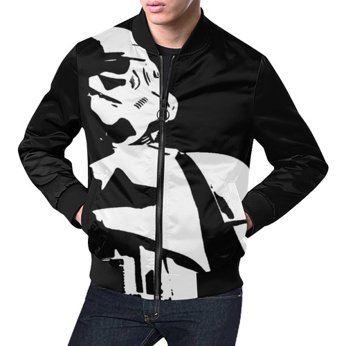 Mens TDS Jacket All Over Print Bomber Jacket for Men (Model H19)