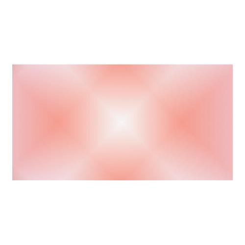 Soft Apricot and Pink Tartan Plaid Custom Ceramic Mug (15OZ)