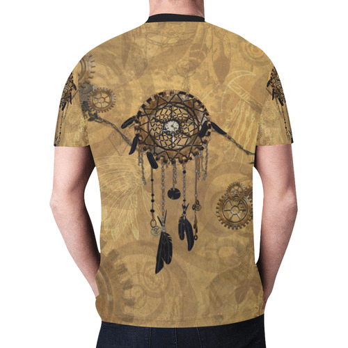 Steampunk Dreamcatcher New All Over Print T-shirt for Men (Model T45)
