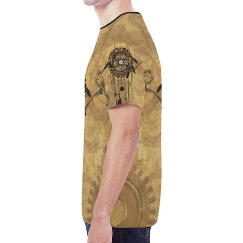 Steampunk Dreamcatcher New All Over Print T-shirt for Men (Model T45)