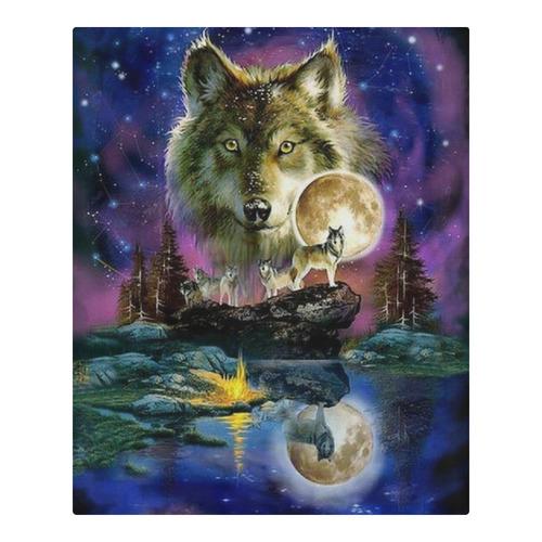 Moon light wolfs 3-Piece Bedding Set