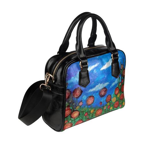 Field of Flowers #1 Shoulder Handbag (Model 1634)