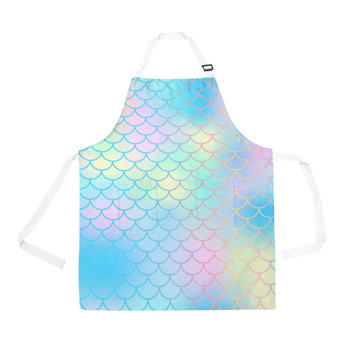 mermaid All Over Print Apron