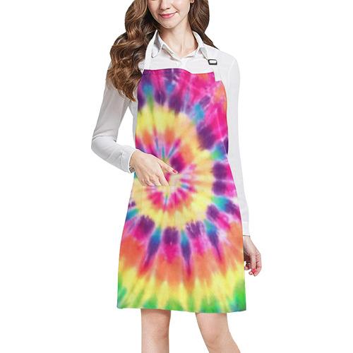 tye dye All Over Print Apron