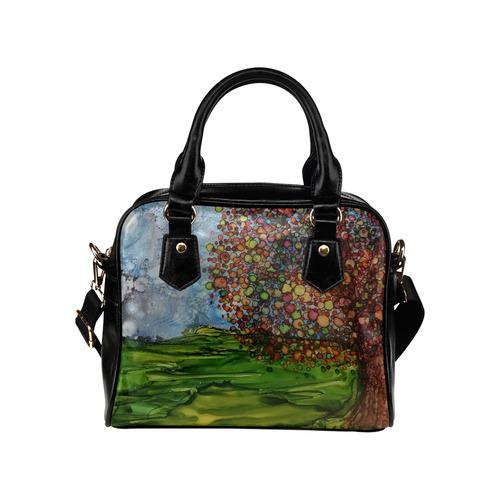 Fall Breeze Shoulder Handbag (Model 1634)