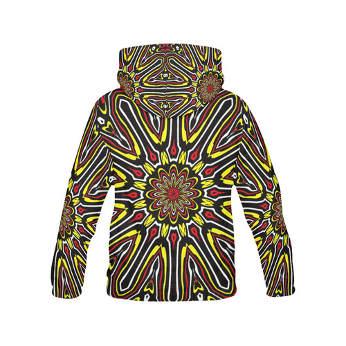 Oriental Kaleido 13 by JamColors All Over Print Hoodie for Men/Large Size (USA Size) (Model H13)