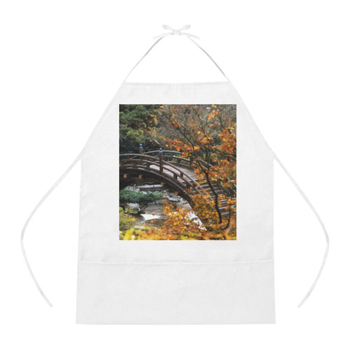 Bridge Cotton Linen Apron
