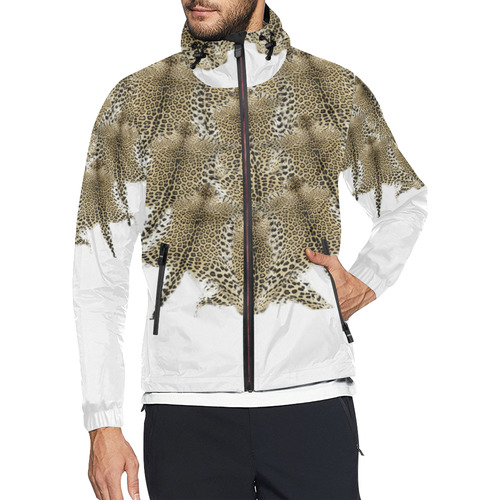 jaguar vneck Unisex All Over Print Windbreaker (Model H23)