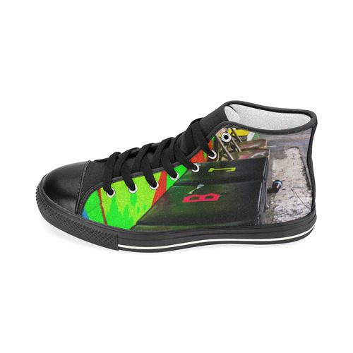 Penalty Box Women's Classic High Tops Women's Classic High Top Canvas Shoes (Model 017)