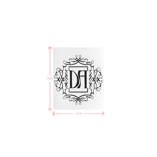 DA-LOGO Private Brand Tag on Tops (4cm X 5cm)