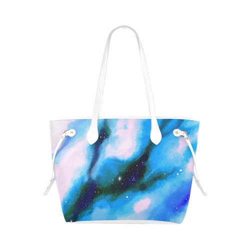 Bright Space Design Clover Canvas Tote Bag (Model 1661)