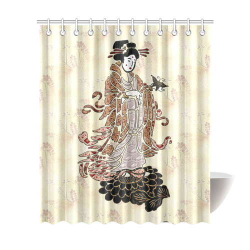 Madame Butterfly Shower Curtain 72\