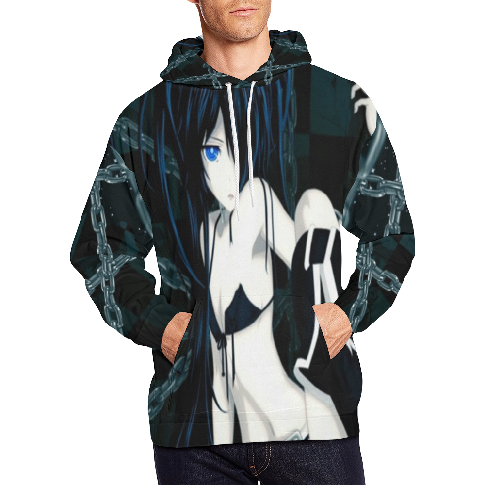 Sexy gothic anime girl all over print hoodie for men large size usa size model h13 id d2345877