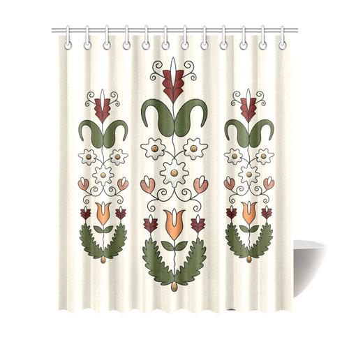 Harvest Dance Shower Curtain