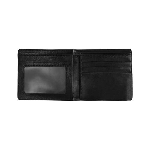 Colliding Dweeb Balls Mini Bifold Wallet (Model 1674)