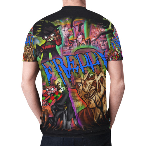 Freddy Kruger By TheONE Savior @ ImpossABLE Endeavors New All Over Print T-shirt for Men (Model T45)