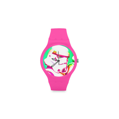 Stormy Pop Plastic Watch Round Plastic Watch(Model 304)