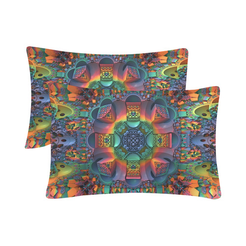 """Groovy Baby! Custom Pillow Case 20""""x 30"""" (One Side) (Set of 2)"""