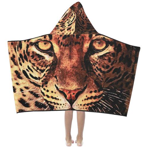 gepard leopard #gepard #leopard #cat Kids' Hooded Bath Towels