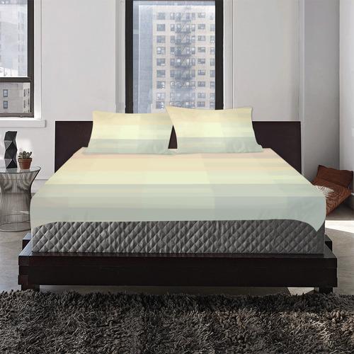 Like a Candy Sweet Pastels Pattern 3-Piece Bedding Set